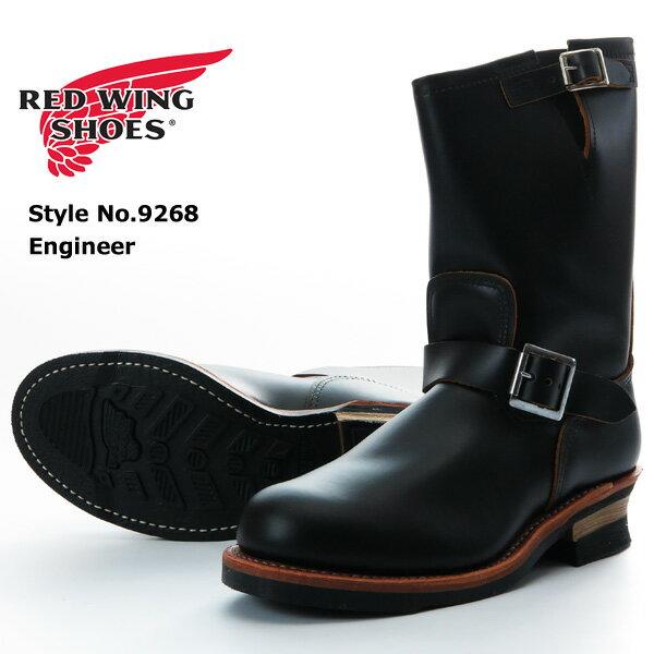 "REDWING レッドウィング エンジニアブーツ スチールトゥ Black ""Klondike"" 茶芯 Style No.9268"