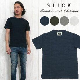 スリック SLICK 半袖 カットソー Tシャツ リンクス カモ 5255925