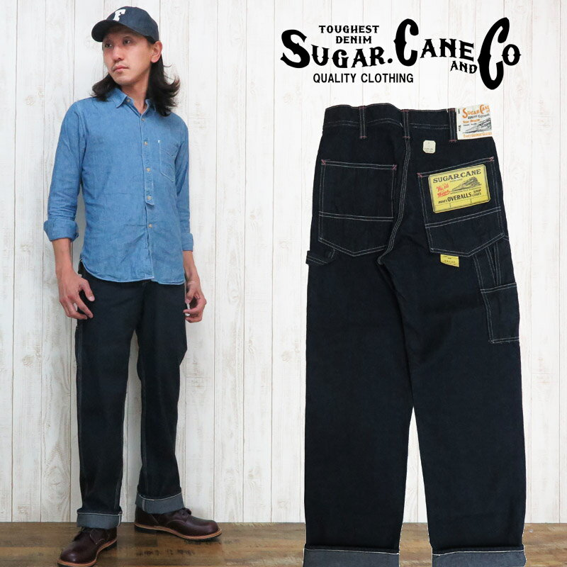 SUGAR CANE シュガーケーン 10oz デニム ペインターパンツ ワーク SC41633