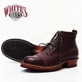 【即納在庫】 WHITE'S BOOTS ホワイツ ブーツ セミドレス HORWEEN クロムエクセル バーガンディ 8.5inch SEMI-DRESS ワークブーツ レザー ホーウィン