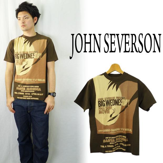 John Severson ジョンセバーソン バックプリントTシャツ「BIG WEDNESDAY」