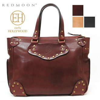 """Red moon REDMOON early Hollywood early HOLLYWOOD saddle leather tote bag """"Centaurus"""" leather EH-KENTAUROS-86P"""