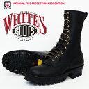 【即納在庫】 WHITE'S BOOTS ホワイツ ブーツ スモークジャンパー SMOKE JUMPER 10インチ NFPA仕様 ブラック Eワイズ …