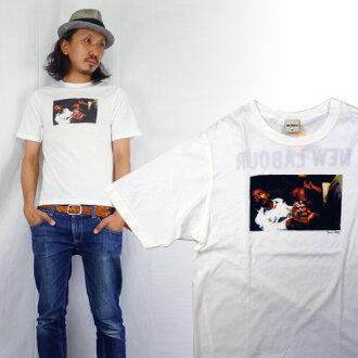 VENICE 베니스 사진 T-셔츠 「 NEW LABOUR 」