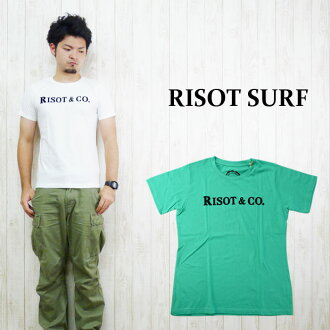 "RISOT risotto parody print T-shirt ""RISOT CO"""
