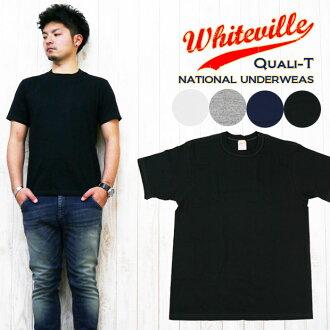 WHITES VILLE 화이트빌 2 매 셋트 팩 무지 T셔츠 wv73544