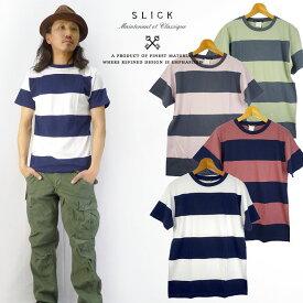 スリック SLICK ボーダーTシャツ
