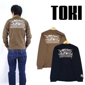 TOKI 긴 소매 T 셔츠 「 후타바의 작 」