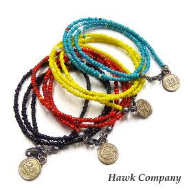 ホークカンパニー HAWK COMPANY ビーズ ネックレス ブレスレット ネイティブ スタイル 6069