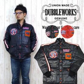 ダブルワークス DUBBLE WORKS レーシングジャケット トラッカージャケット スペクタージャケット 「BLACK HAWK CB 」 12001C