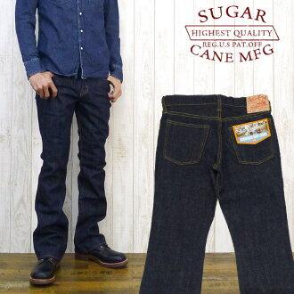 甘蔗甘蔗牛仔裤 SC40321 70 引导切一洗涤 (牛仔布蓝色牛仔裤 G 面包)