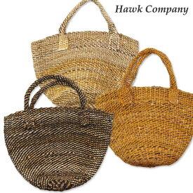 ホークカンパニー HAWK COMPANY かご バッグ サイザル 麻 3231