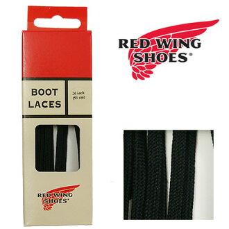REDWING 레드 윙 순정 플랫 나일론 부츠 레이스 블랙 36 인치(91 cm) 신발끈 Style No. 97119 슈레이스 구두끈