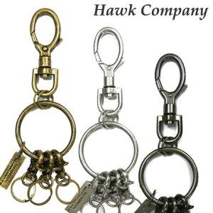 ホークカンパニー HAWK COMPANY キーフック キーホルダー アンティーク調 6255