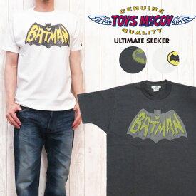 """トイズマッコイ 半袖 BATMAN TEE """"BATMAN LOGO"""" バットマン TMC1648"""
