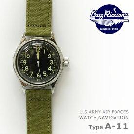 バズリクソンズ Buzz Rickson's A-11 ミリタリー ウォッチ 腕時計 機械式 自動巻き BR02613