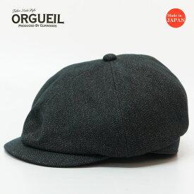 ORGUEIL オルゲイユ 6パネル キャスケット コットンコバート OR-7155A
