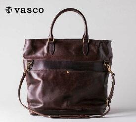 バスコ VASCO NELSON レザー 2ウェイ バッグ LEATHER 2WAY BAG MADE IN JAPAN ヴァスコ VS-244L 【2019年 秋冬 新作】