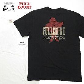フルカウント × グラッドハンド FULLCOUNT GLAD HAND クルーネック 半袖 Tシャツ COWGIRL GHT-005 【2021年 春夏 新作】