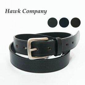 ホークカンパニー HAWK COMPANY レザー ベルト 革 メンズ レディース 1730 【2019年 秋冬 新作】