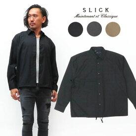 スリック SLICK 長袖 クリア ツイル シャツ ジャケット SLK5155457 【2019年 秋冬 新作】