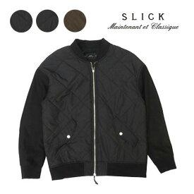 スリック SLICK 長袖 キルトスウィッチ ボンバー ジャケット SLK5165417 【2019年 秋冬 新作】