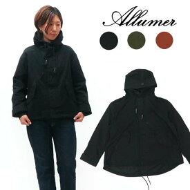 Allumer アリュメール 長袖 ショート モッズ コート ジャケット レディース 8179252