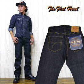 フラットヘッド THE FLAT HEAD ジーンズ 3005 ストレート PIONEER SERIES ジーパン Gパン デニム リニューアル版 定番 5ポケット
