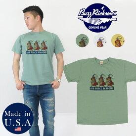 バズリクソンズ BUZZ RICKSON'S 半袖 Tシャツ プリント MADE IN USA BR78018