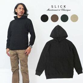 スリック SLICK ビッグ ワッフル プルオーバーパーカー フード 51553512