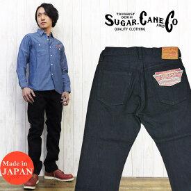 SUGAR CANE シュガーケーン ジーンズ デニム ジーパン パンツ ブラック タイプ3 スリムストレート BLACK DENIM JEANS SC41470