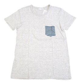 ダブテイル DOVETAIL 半袖 Tシャツ トライブレンド 天竺 ボーダー ポケット 7287832