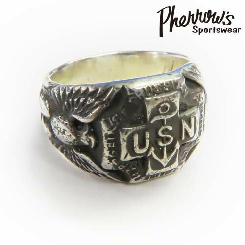 フェローズ Pherrow's リング シルバー925 ''USN RING 2''
