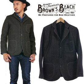 BROWN'S BEACH ブラウンズビーチ ビーチクロス テーラードジャケット アウター BBJ8-004 FULLCOUNT フルカウント