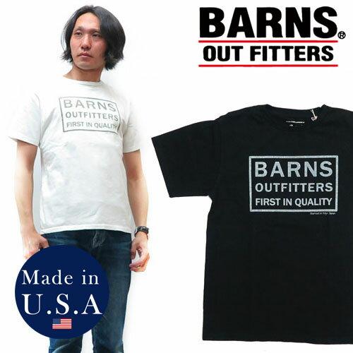 バーンズ BARNS Tシャツ クルーネック 半袖 USA-T 胸ポケット メンズ BR-7846 無地Tee 【2019年 春夏 新作】