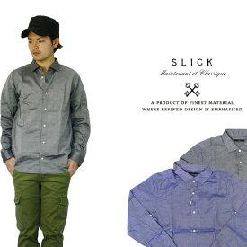 スリック SLICK ワイドスプレッドシャツ