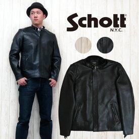 ショット Schott シングル クラシックレーサージャケット シープスキン 3161055