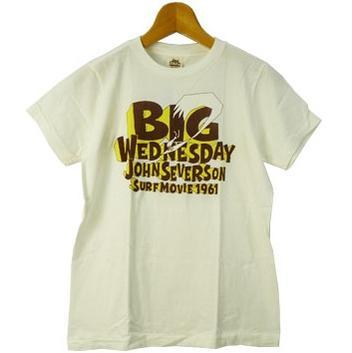 JOHNSEVERSON ジョンセバーソン バックプリントTシャツ「BIGWEDNESDAY」