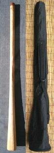 【ケース付き/ティモール ユーカリ ディジュリドゥー☆オパトーンNo.04(C#)☆】 〈民族楽器 太古の金管楽器 木管楽器 アボリジニ オーストラリア ディジェリドゥー 高品質〉