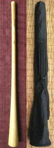 【ケース付き/ティモール ユーカリ ディジュリドゥー☆オパトーンNo.03(C#)☆】 〈民族楽器 太古の金管楽器 木管楽器 アボリジニ オーストラリア ディジェリドゥー 高品質〉