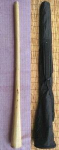 【ケース付き/ティモール ユーカリ ディジュリドゥー☆オパトーンNo.10(D)☆】 〈民族楽器 太古の金管楽器 木管楽器 アボリジニ オーストラリア ディジェリドゥー 高品質〉