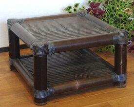 《アジアン家具》バンブー・サイドミニテーブルB
