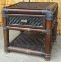《アジアン家具》バンブー・サイドミニテーブルC