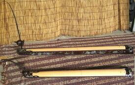 【ダン・バウ】=螺鈿装飾=《折り畳み式》〜ピック・アップ内蔵〜 (ベトナム伝統楽器 送料無料)