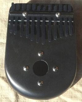 选用优质木材 karimba 12 字符串黑色 ☆