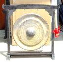 ベトナムゴング《銅鑼》☆スタンド付き35cm径
