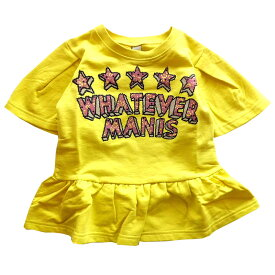 夏SALE ジュニア女の子 半袖ミニ裏毛Tシャツ ラスタマニス140cm 150cm 160cm