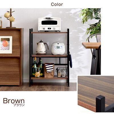 食器棚60幅キッチン収納レンジ台ロータイプ