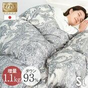 日本製ロイヤルゴールドラベル羽毛布団
