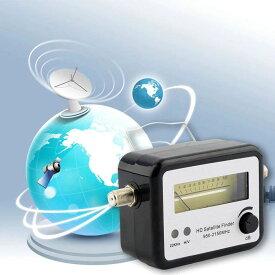 メール便OK BS レベルチェッカー アンテナ BS/CS レベルメーター 衛星放送 受信レベル 電池不要